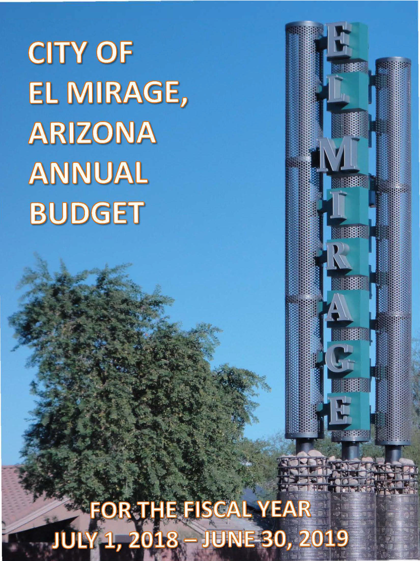 budget cover